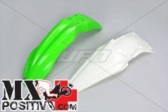 FENDERS KIT KAWASAKI KXF 450 2013-2015 UFO PLAST KAFK220999 OEM ORIGINALE