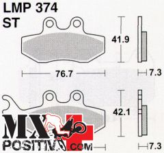 PASTIGLIE FRENO FANTIC CABALLERO 125 MOTARD LC 2010-2010 ATHENA LMP374