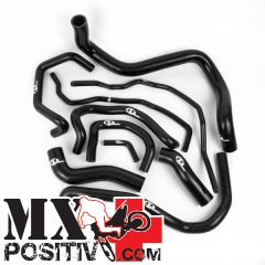KIT TUBI SILICONE  HUSQVARNA TE 310 - new engine 2011-2013 SFS MBC173N 2 tubi NERO / BLACK