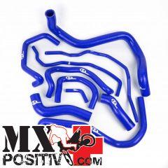 KIT TUBI SILICONE  BMW S 1000 RR HP4 2012-2015 SFS RBC186B 3 tubi BLU / BLUE