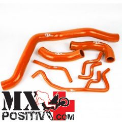 KIT TUBI SILICONE  KTM Super Duke R 990 2009-2013 SFS RBC162A 7 tubi ARANCIONI / ORANGE