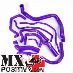 KIT TUBI SILICONE  KTM EXC 400 2008-2011 SFS MBC124P 4 tubi VIOLA / PURPLE