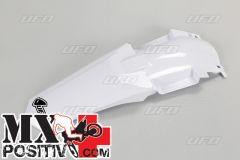 PARAFANGO POSTERIORE YAMAHA YZ 85 2002-2014 UFO PLAST YA03857K046 restyling BIANCO/WHITE