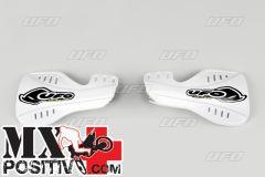 HANDGUARDS YAMAHA YZ 250 F 2004-2021 UFO PLAST YA03873046 BIANCO / WHITE