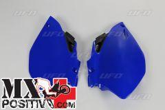 SIDE PANELS YAMAHA YZF 450 2006-2009 UFO PLAST YA03883089 BLU/BLUE