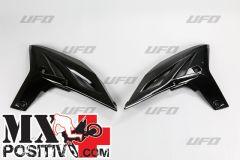 RADIATOR SCOOPS YAMAHA WRF 450 2012-2015 UFO PLAST YA04828001 NERO/BLACK