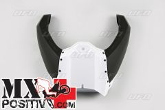 SIDE COVERS FILTER BOX YAMAHA YZ 450 F 2014-2017 UFO PLAST YA04837046 coperchio airbox completo / complete airbox BIANCO / WHITE
