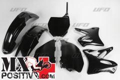 KIT PLASTICHE YAMAHA YZ 125 2006-2012 UFO PLAST YAKIT302001 NERO/BLACK