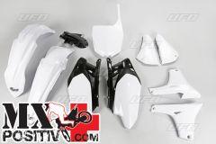 KIT PLASTICHE YAMAHA YZF 450 2011-2012 UFO PLAST YAKIT311046 BIANCO/WHITE