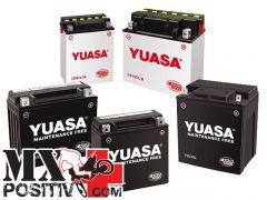 BATTERY KTM 350 SX F 2011-2015 YUASA YU5039 misure mm 114 x 71 x 86 YTX4L-BS 3 Ah