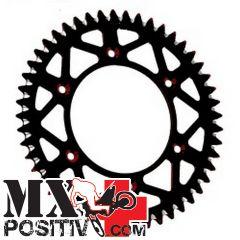 CORONA ERGAL KTM 500 EXC 2012-2020 MOTOCROSS MARKETING CO3664.52N 52 DENTI PASSO 520 SCARICO FANGO NERO