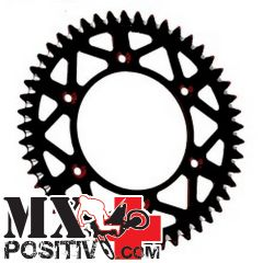 ERGAL SPROCKET YAMAHA YZ 450 F 2003-2020 MOTOCROSS MARKETING CO3657.48N 48 DENTI PASSO 520 SCARICO FANGO NERO