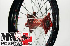 "COMPLETE WHEEL KTM SX 125 1990-2012 KITE 20.210.T 2.15""X18\"" POSTERIORE ARANCIONE/ORANGE"