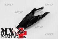 PARAFANGO POSTERIORE HUSQVARNA TC 499 2011-2013 UFO PLAST HU03342001  no codoni/without extensions NERO/BLACK