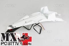PARAFANGO POSTERIORE HUSQVARNA TE 449 2011-2013 UFO PLAST HU03344041  con portatarga/with tail light BIANCO/WHITE