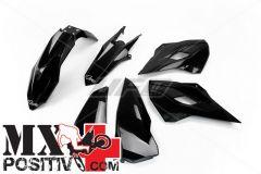 KIT PLASTICHE HUSQVARNA FE 450 2014 UFO PLAST HUKIT614001   NERO/BLACK