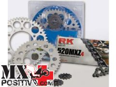 TRASMISSION KIT HONDA CR 125 R  2000-2001 RK EXCEL 9516 Z13-51