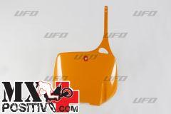 TABELLA PORTANUMERO KTM 400  1993-1998 UFO PLAST KT03024126   ARANCIO/ORANGE 126