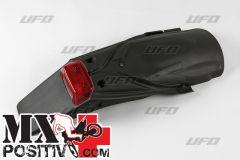 PARAFANGO POSTERIORE KTM 125 1998-2003 UFO PLAST KT03047001  portatarga/plate holder NERO/BLACK