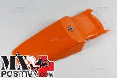 PARAFANGO POSTERIORE KTM 400 1993-1997 UFO PLAST KT03048127  con staffa/with support ARANCIO/ORANGE 127