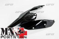 PARAFANGO POSTERIORE KTM SX 250 2007-2010 UFO PLAST KT03094001  con fianc./with side panels NERO/BLACK