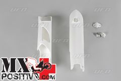 FORK GUARDS KTM SX-F 250 2007-2014 UFO PLAST KT04002047   BIANCO/WHITE