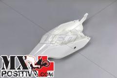 PARAFANGO POSTERIORE KTM SX 65  2009-2015 UFO PLAST KT04010047  con fianc./with side panels BIANCO/WHITE