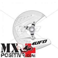 FRONT DISK PROTECTION KTM EXC-F 250 2010-2014 UFO PLAST KT04068047   BIANCO / WHITE