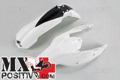 KIT PARAFANGHI KTM EXC-F 450  2009-2010 UFO PLAST KTFK511047   BIANCO/WHITE