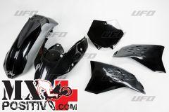 KIT PLASTICHE KTM SX 250 2007-2008 UFO PLAST KTKIT506001   NERO/BLACK