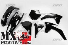 COMPLETE PLASTIC KIT KTM SX-F 350 2012-2012 UFO PLAST KTKIT510001  SXF NERO / BLACK