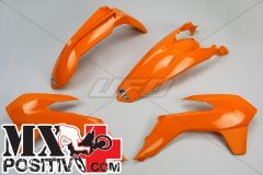 KIT PLASTICHE KTM EXC 125 2014-2016 UFO PLAST KTKIT516127   ARANCIO / ORANGE