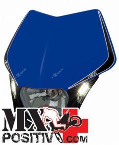 LIGHT PLATE V-FACE LED YAMAHA WRF 250 2007-2014 RACETECH R-MASKBLNR009   BLU YZF