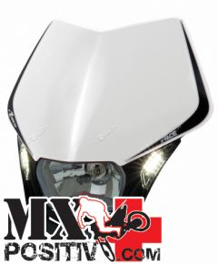 LIGHT PLATE V-FACE LED YAMAHA WRF 250 2015-2016 RACETECH R-MASKBNNR009   BIANCO