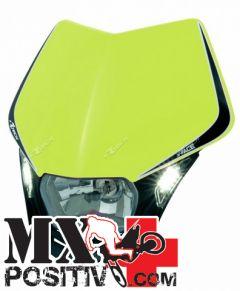 PORTA FARO V-FACE LED HUSABERG FE 250 2013-2014 RACETECH R-MASKGFNR009   GIALLO NEON