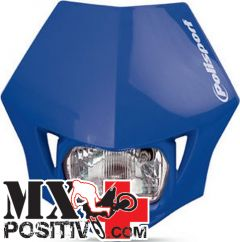 PORTA FARO UNIVERSALE MMX YAMAHA WR 450 F 2003-2018 POLISPORT P8663500003   BLU