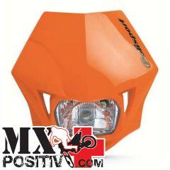 PORTA FARO UNIVERSALE MMX HONDA CRF 250 X 2004-2018 POLISPORT P8663500005   ARANCIONE
