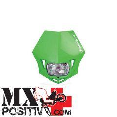 PORTA FARO UNIVERSALE MMX HONDA CRF 450 X 2004-2018 POLISPORT P8663500007   VERDE