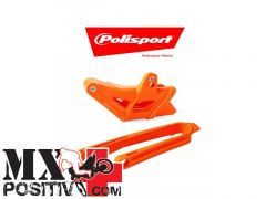 KIT CRUNA E PATTINO SCORRICATENA SUZUKI RMZ 250 2010-2011 POLISPORT P90614   GIALLO