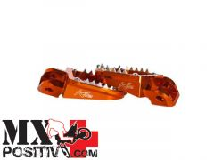 PEDANE MAGGIORATE  KTM SX-F 450 2000-2015 KITE 29.017.0  MX/ENDURO ARANCIONE/ORANGE