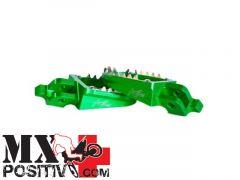 PEDANE MAGGIORATE  KAWASAKI KX 250 F 2006-2014 KITE 29.040.0  MX/ENDURO VERDE/GREEN