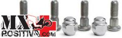 WHEEL STUD AND NUT KIT REAR KAWASAKI MULE 600 2008-2016 ALL BALLS 85-1042