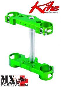 TRIPLE CLAMPS KAWASAKI KX 450 F 2013-2014 KITE 14.080.0  MX/ENDURO VERDE/GREEN