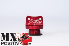 OIL FILLER CAP KAWASAKI KX 450 F 2004-2014 KITE 09.013.0  STANDARD ROSSO/RED